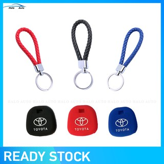 Silicone Key Cover Toyota Key Fob Key Cover Casing with FREE Keychain