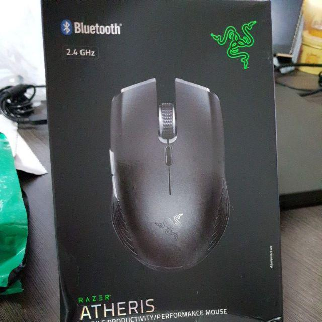 RAZER ATHERIS Gaming Wireless Bluetooth Mouse | Shopee Singapore