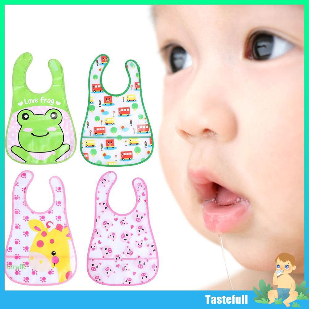 Animal Pattern Cotton Toddler Baby Bibs Saliva Pinafore with Teethers Baby Toys