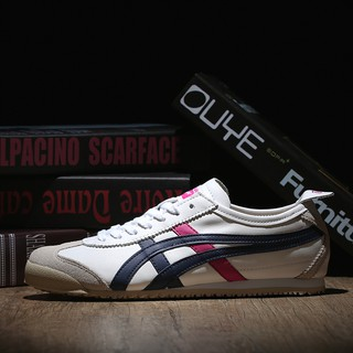 buy online 55c9d f3686 Onitsuka Tiger Mexico 66 Cowhide White Navy Pink | Shopee ...