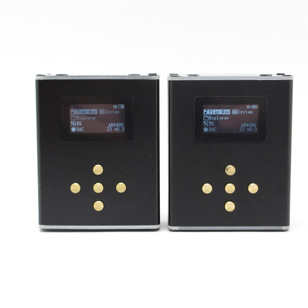 Zishan Z3 Lossless MP3 HiFi Player DAC AK4490 AK4493 DSD player