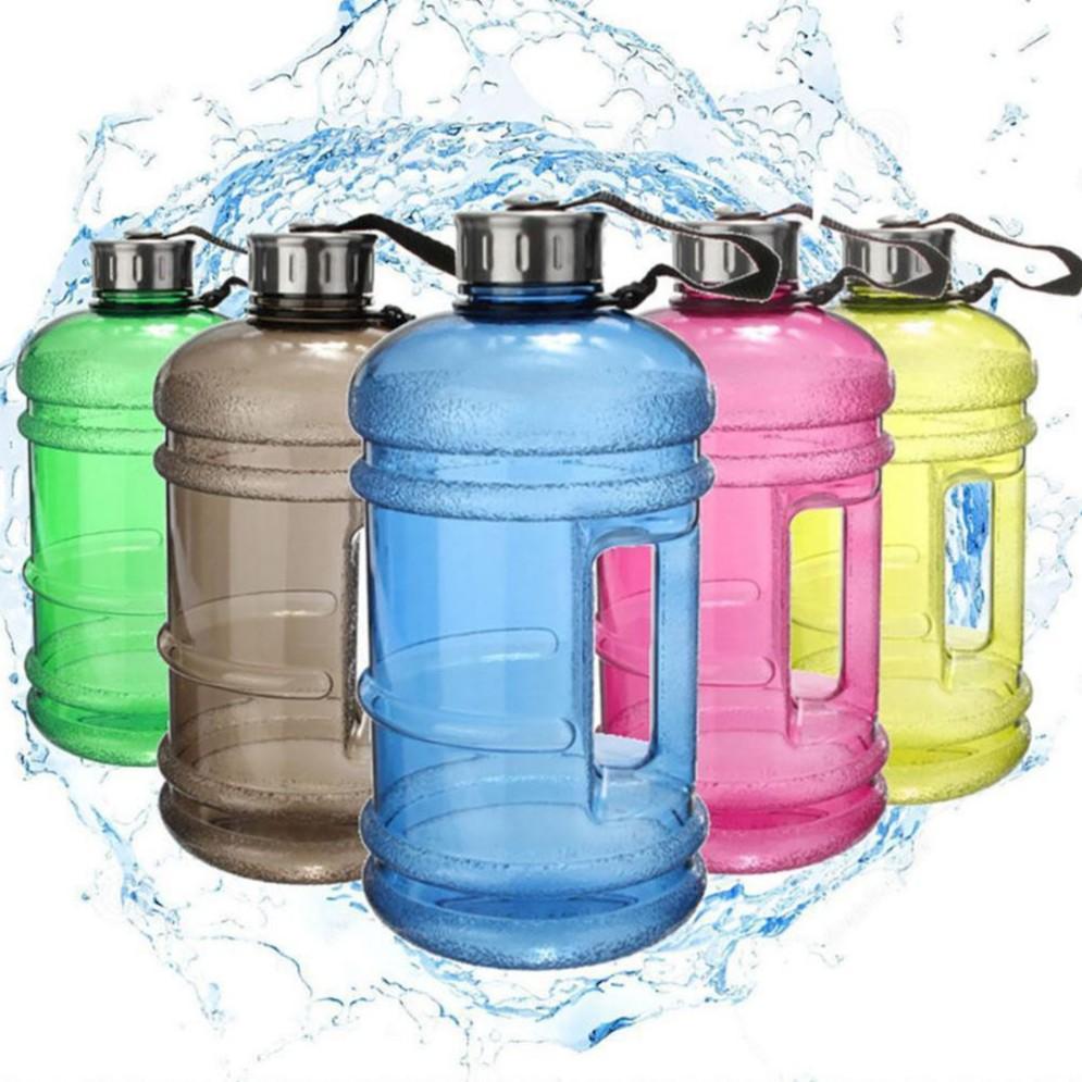 Training  Gym  Sport Supplies Water Bottle Picnic Kettle Drinkware Big Cup Jug