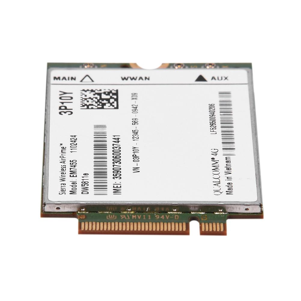 Replacement Card Module 3P10Y Qualcomm 4G Lte Wwan Wireless