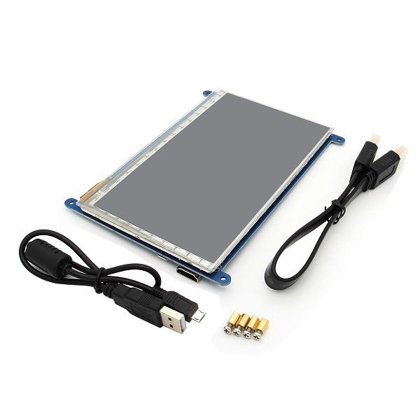 Capacitive IPS LCD Display 5 Point Touch Screen For
