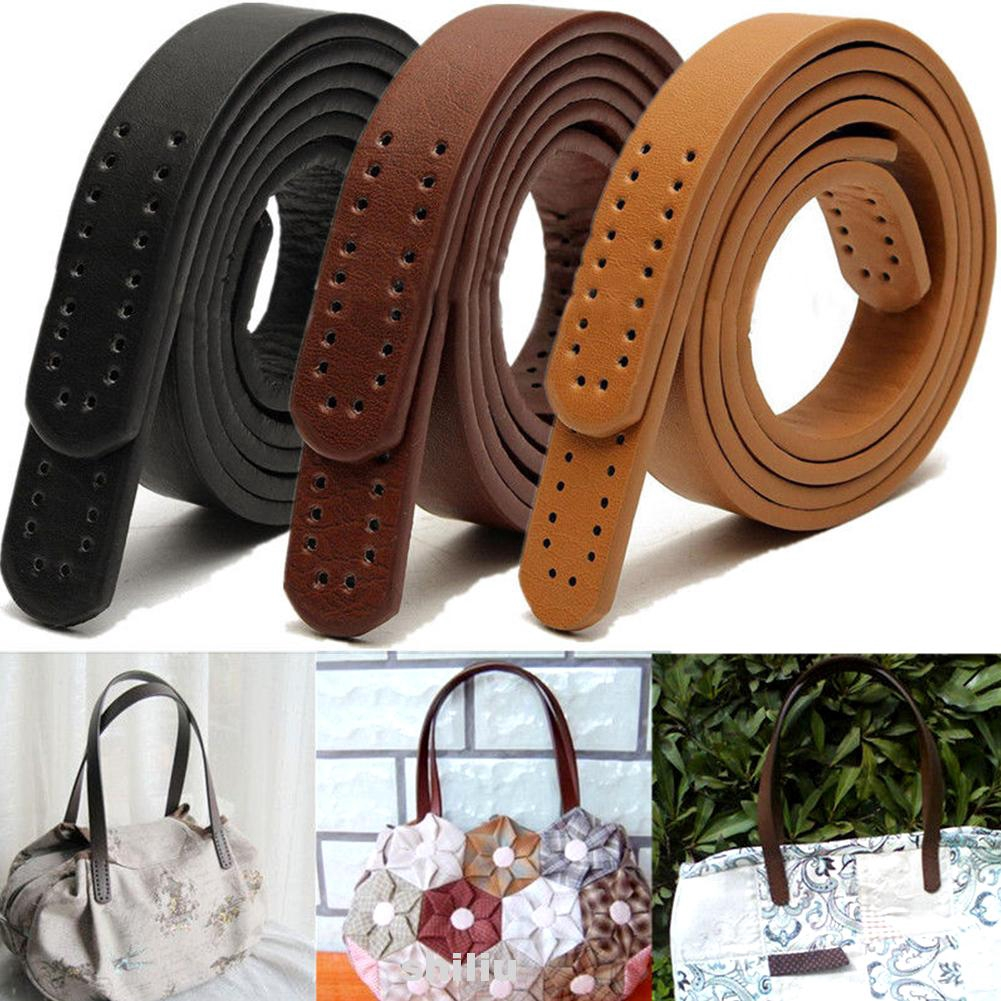 Beige 2Pcs Genuine Leather Handbag Straps Replacement Strap for DIY Hand Accessories Black//Brown//Beige for Choose