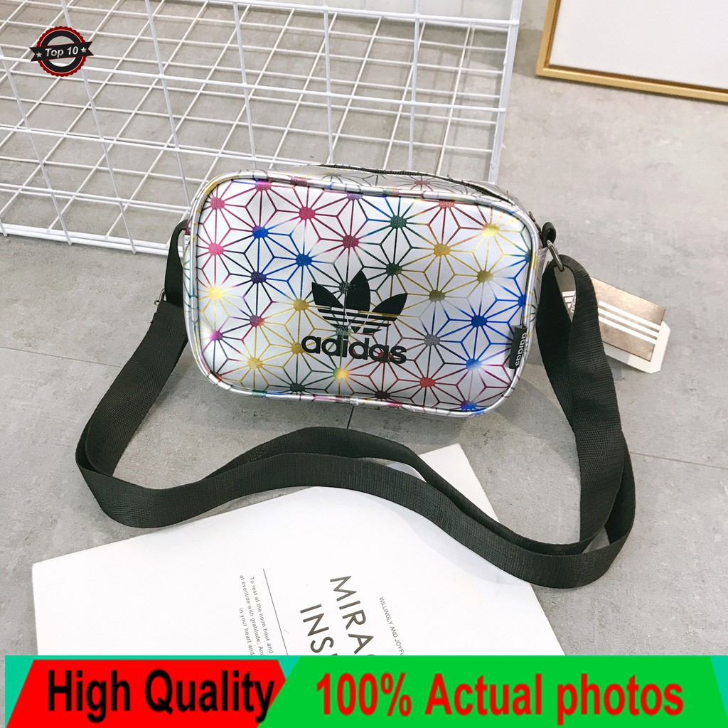 2019 Women Adidas Sling Bag Issey Miyake Synthetic Leather Shoulder Bags