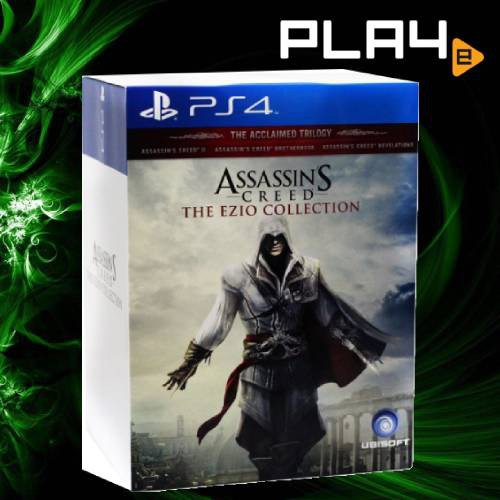 Ps4 Assassin S Creed The Ezio Collection Collector Edition Shopee Singapore
