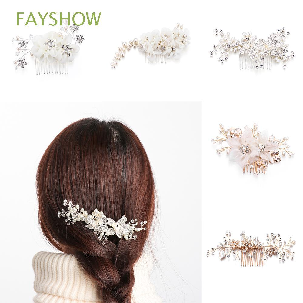 hair accessories party tiara flower wedding bridal hair comb
