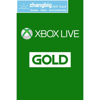 Xbox Live Gold Membership (Digital Code) | Shopee Singapore