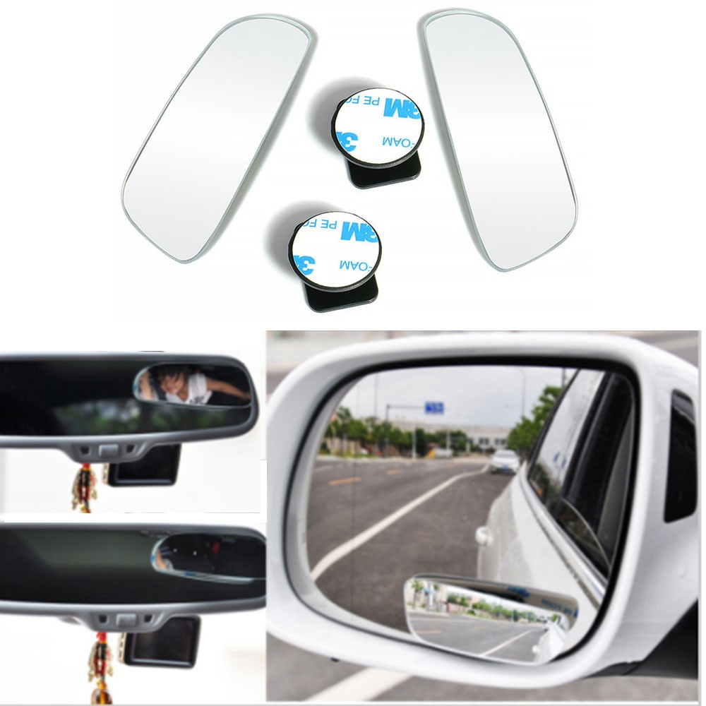 Car Wing Mirrors & Accessories 2X Universal Car Auto 360 Wide ...