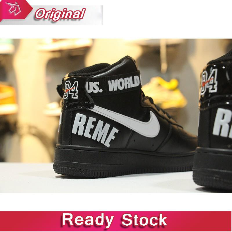 3c5df09d6d6b Kasut Nike Air Force 1 Low Basketball Shoes Lace Up Trainers Shoes Spupreme  AF1