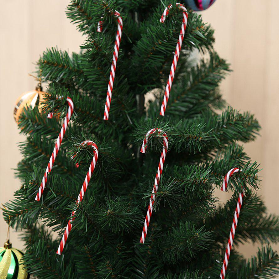 Candy Christmas Tree Decorations.Christmas Decorations Candy Cane Christmas Tree Decoration Ornaments