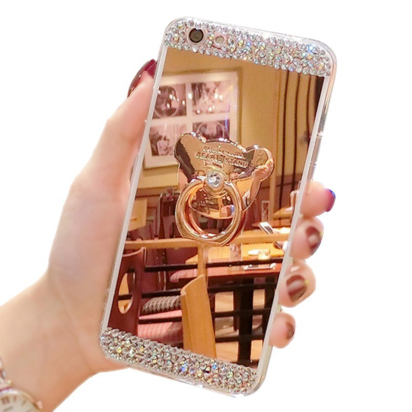 Huawei Nova 3 3i 3e 2 2i 2s Plus Nova Lite Casing Luxury Mirror Case Phone Cover