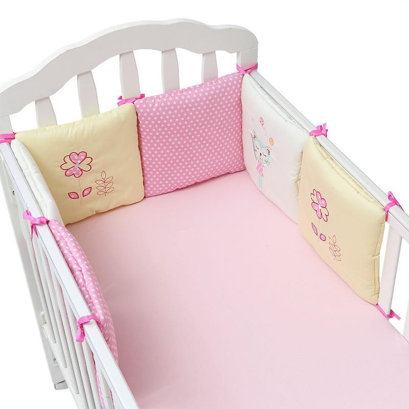 485217ca949e 6 In 1 Baby Cradle Bedding Bumper Infant Crib Cot Set Newborn Gift ...