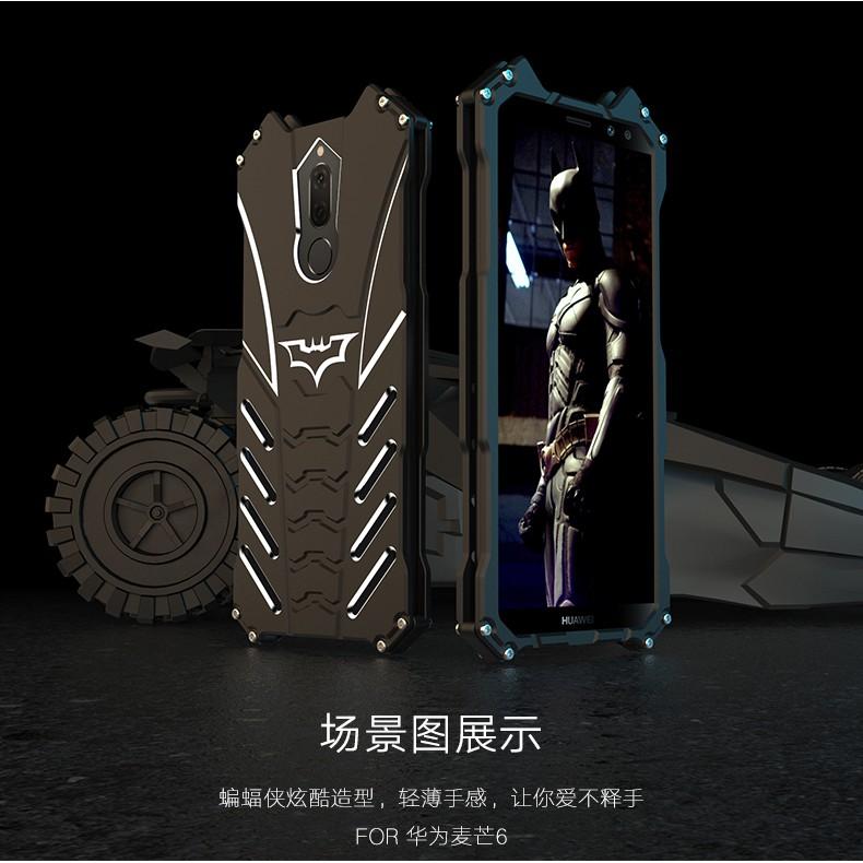 Huawei Nova 2i lite 2S Honor 10 lite Original R-JUST Batman Armor Case Aluminum Metal Cover