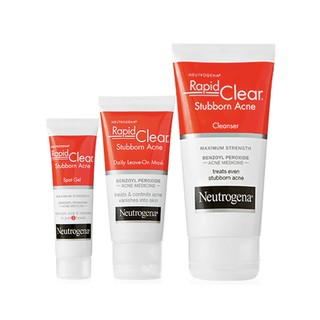 Neutrogena Rapid Clear Stubborn Acne Cleanser Mask Shopee