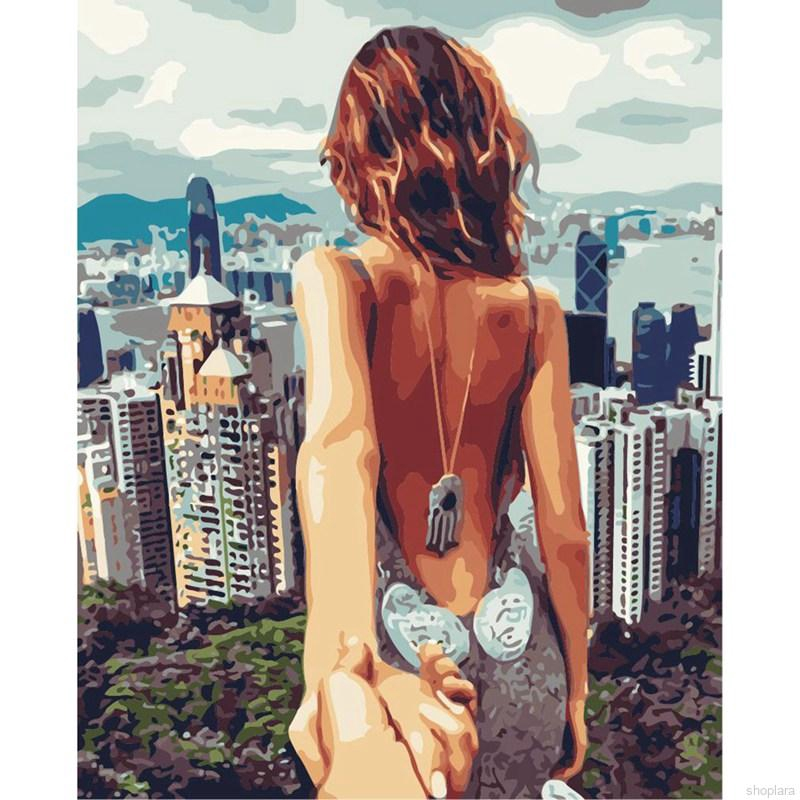 Shoplara Human Body Art Diy Oil Painting Figure Unframed Modern Art Wall Picture Home Decor By Numbers Kits Paint On Canvas Shopee Singapore