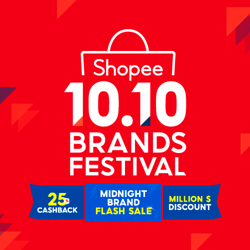 10 10 Brands Festival Sale 2020 Daily 25 Cashback Shopee Singapore