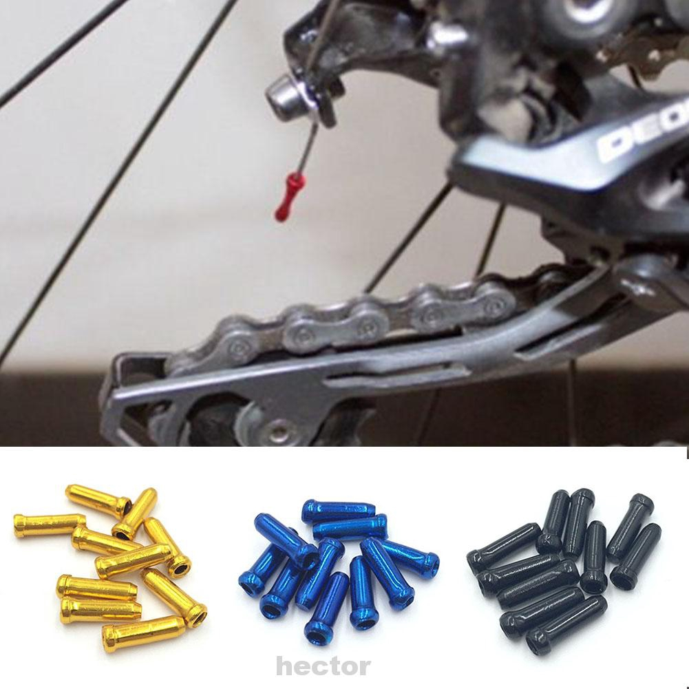 50PCS Lots Bike Bicycle Brake Shifter Derailleur Inner Cable Wire End Cap Crimps