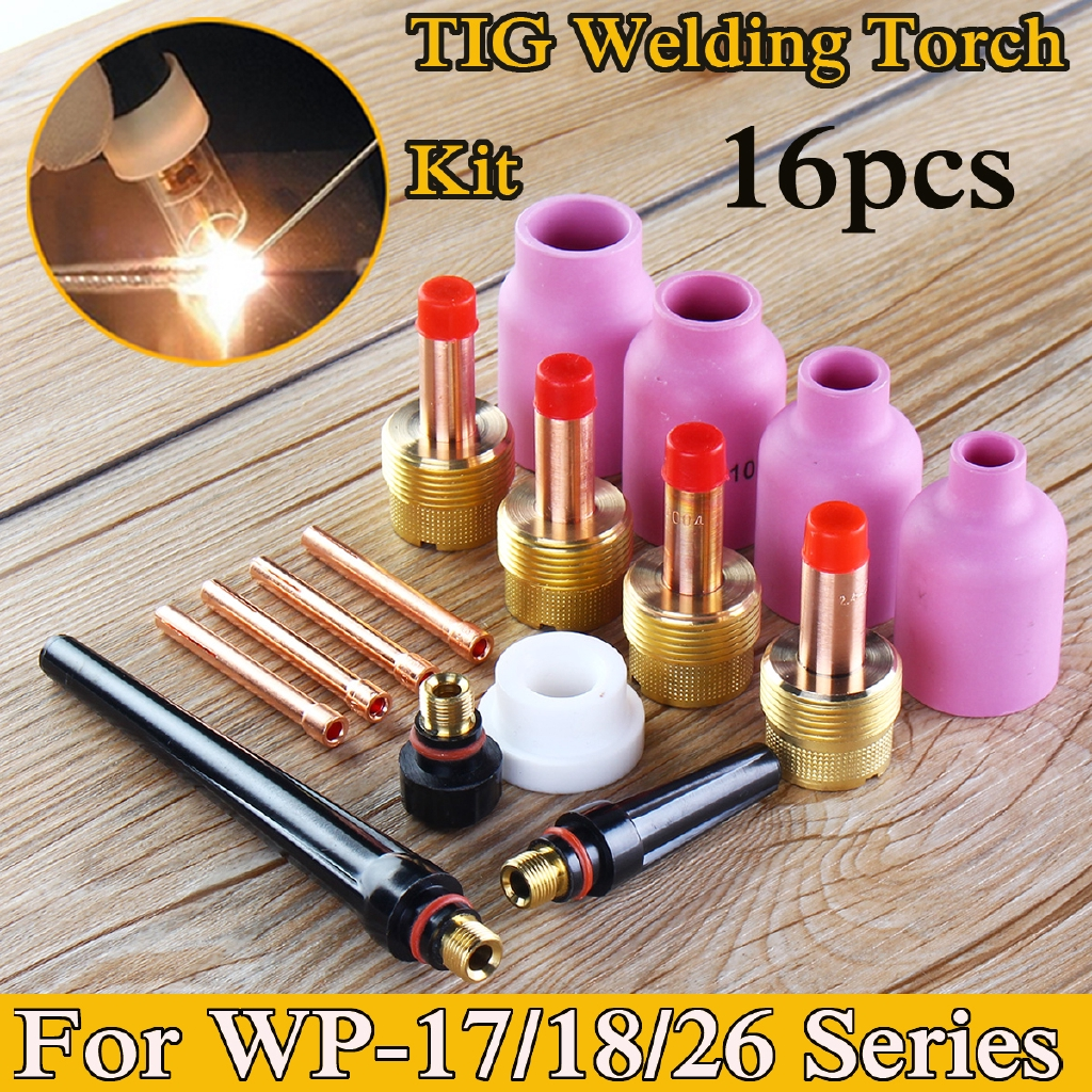 """10pcs TIG Welding Consumable Collet 0.40/"""" 1.0mm 10N22 fit WP-17 WP-18 WP-26"""