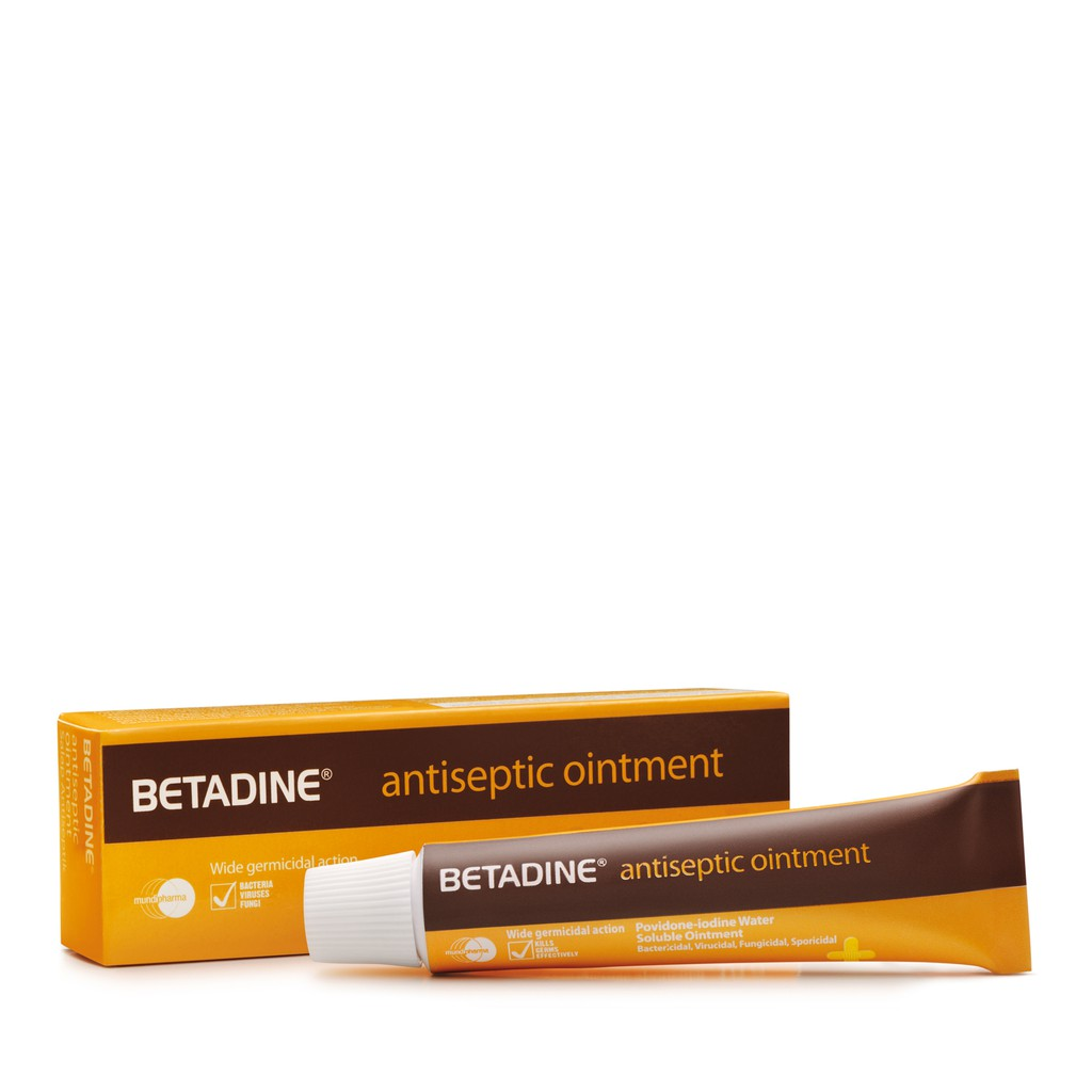 Betadine Antiseptic Solution 30ml Ointment 10g Shopee Singapore 30 Ml Free Gift