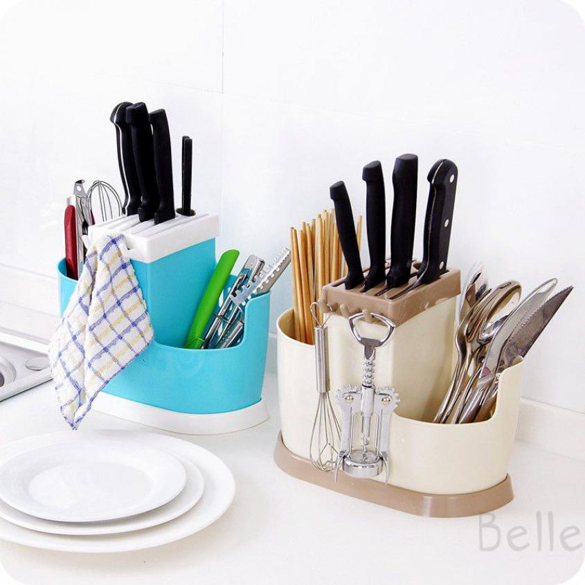 Belle Kitchen Holder Spoon Organizer Chopsticks Draining