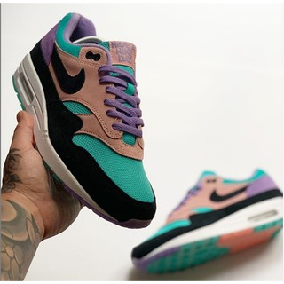 daf61e8c Nike Air Max 1 ND Have A Nike Day Purple Black Coral Running Shoes ...