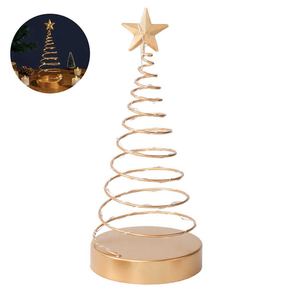 Lighted Christmas Table Decorations