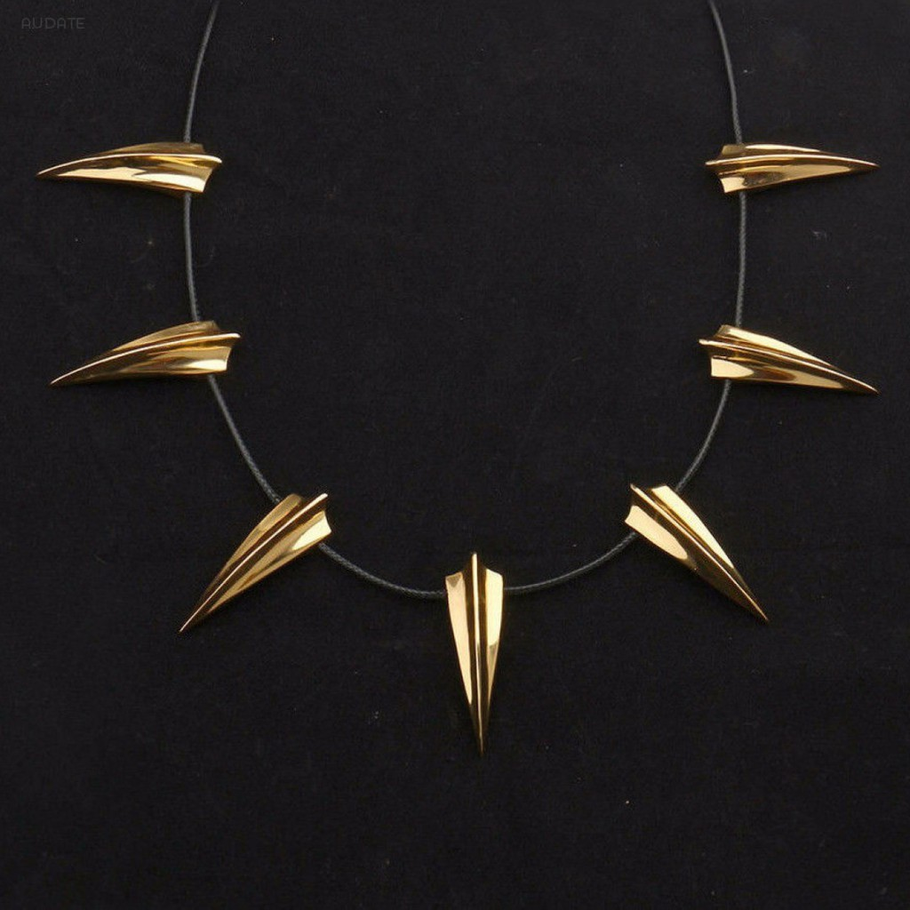Black Panther Necklace Wakanda King T/'Challa Necklace Cosplay CostumeJewelry US