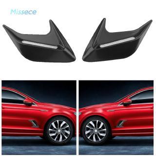 Universal Car Decorative Air Flow Intake Hood Scoop Vent Bonnet Cover 4pcs