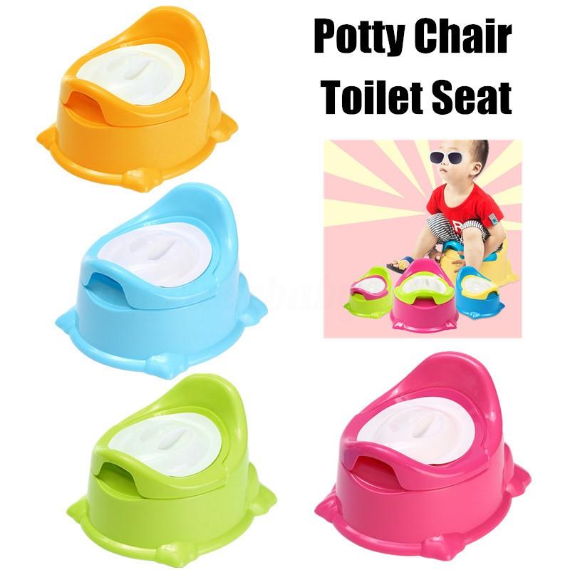 BOBORA 2 in 1 Baby Portable Traveling Potties Kids Toilet Training Chairs Seat Children Car Foldable Potties
