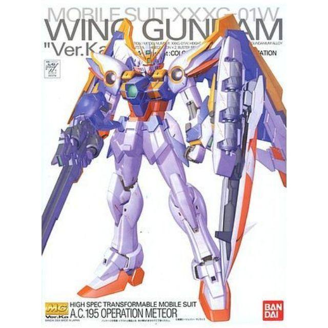 Bandai Mg 1 100 Wing Gundam Ew Ver Ka Shopee Singapore