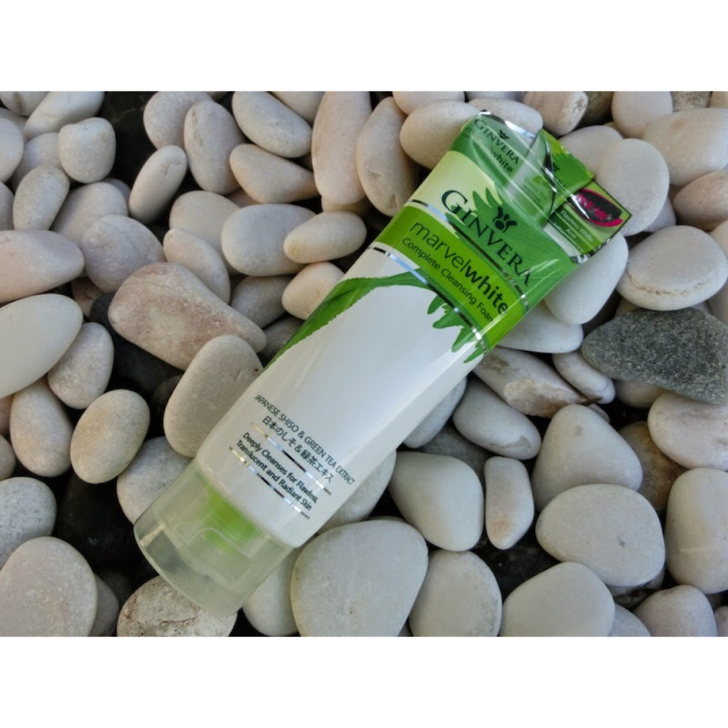 Ginvera Marvel White Complete Cleansing Foam