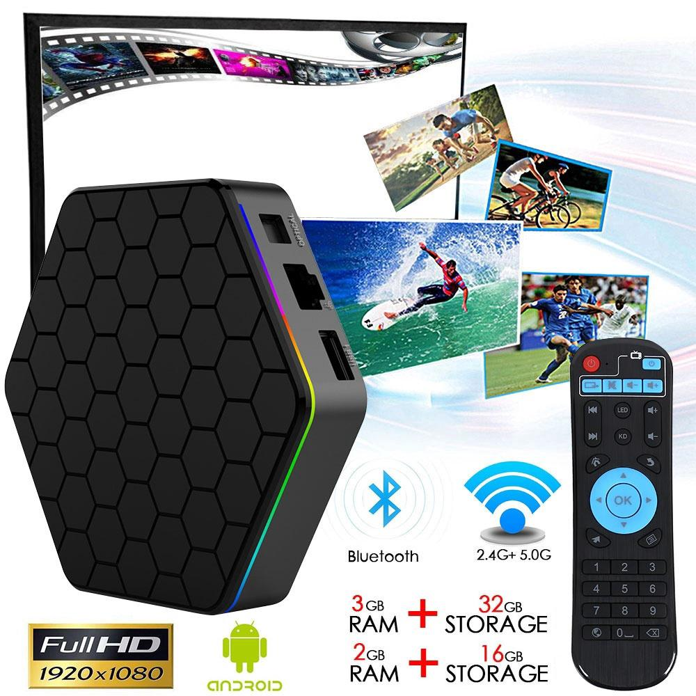 T95Z Plus Smart TV Box Fully Loaded TV Box Octa Core Android