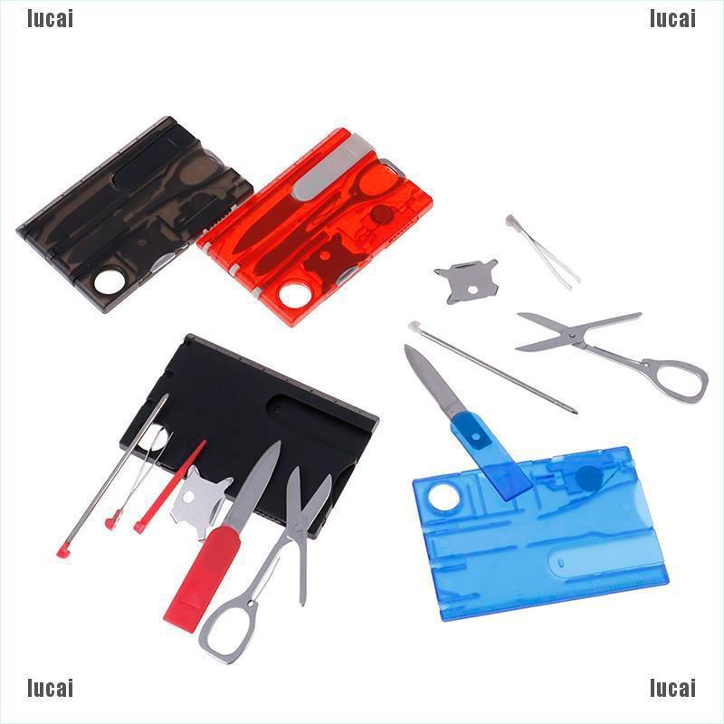 1set Multi-functional Swisscard Credit Card survival combination tool *