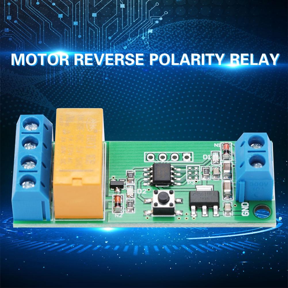 Dc 5//6//9//12v relay engine reversed polarity adjustable delay relay