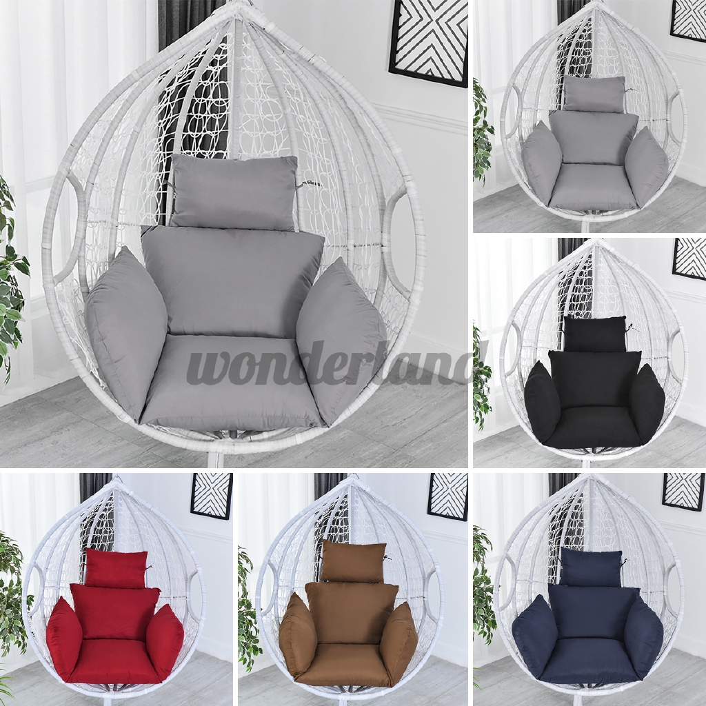 Picture of: Swing Chair Cushion Mat Hanging Indoor Outdoor Patio Egg Chair Seat Pad Pillow Without Chair Shopee Singapore