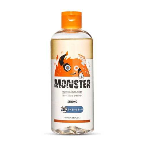 [Etude House] Monster Oil In Cleansing Water 300ml /women cosmetic/made in korea | Shopee Singapore
