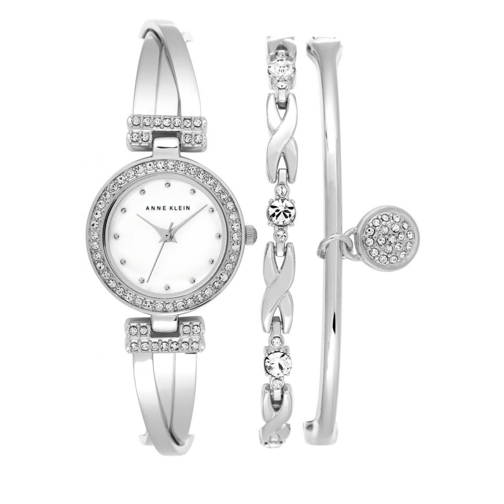 Anne Klein Ladies Box Set Swarovski Crystal Accented Bangleak 1869svst Fossil Fs5182 Grant Sport Chronograph Stainless Steel Watch And Wallet Fs5336 Shopee Singapore