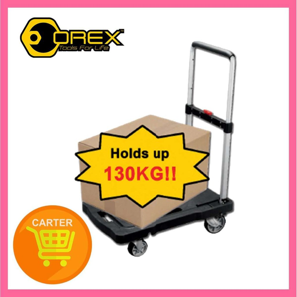 Orex Plastic Foldable Trolley