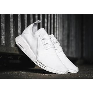 meet ab2f2 36206 Adidas NMD R1 Primeknit Japan Pack Triple White | Shopee ...