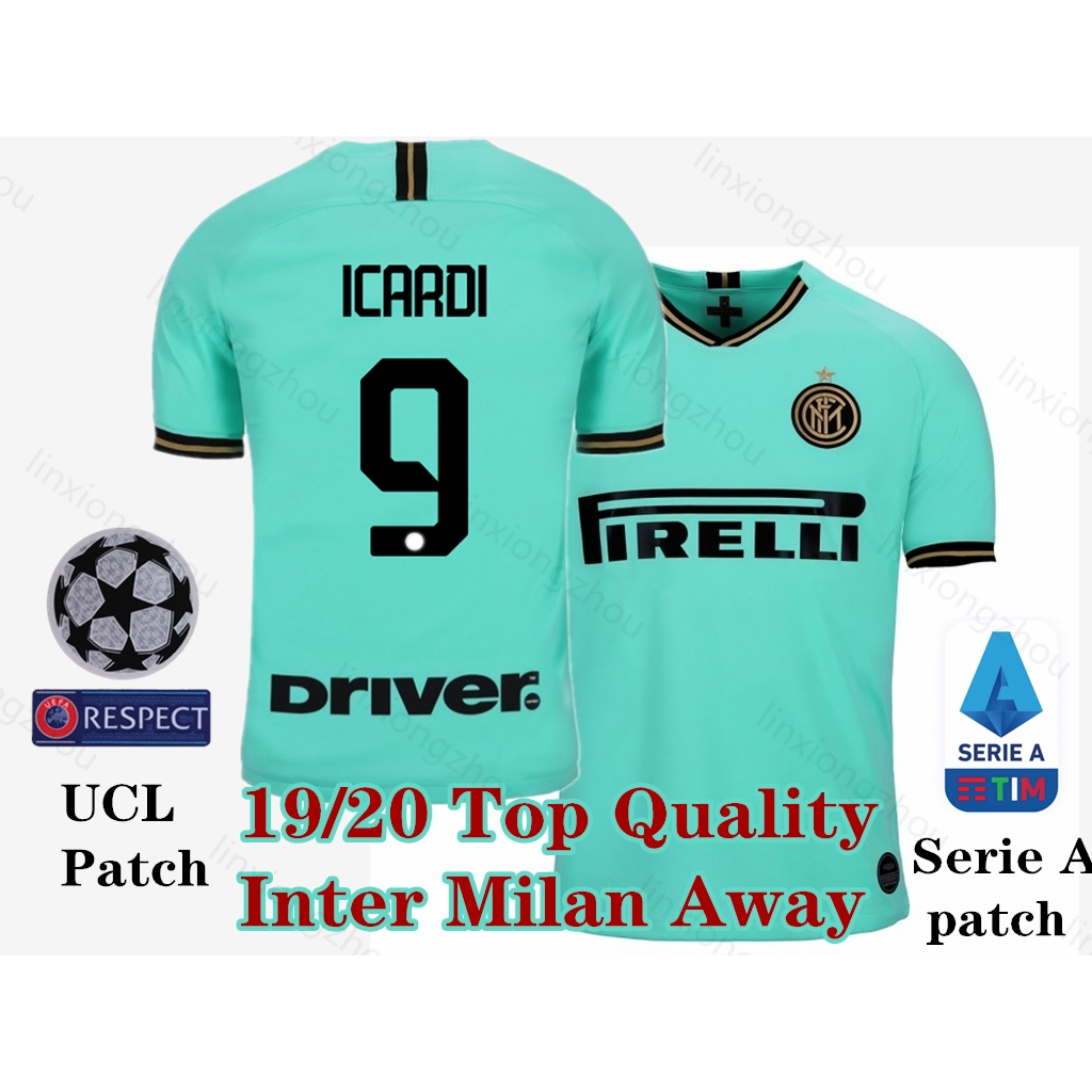 purchase cheap 74a6c a8ecb Top Quality 19/20 Inter Milan Away Soccer Jersey Football Jersey