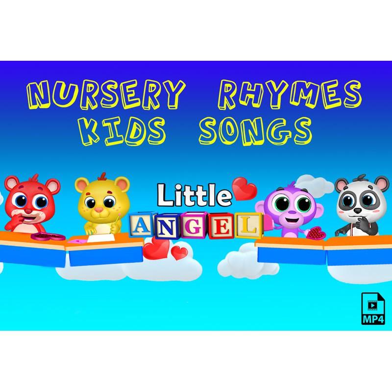 KID SONG Little Angel Nursery Rhymes & Kids Songs ...