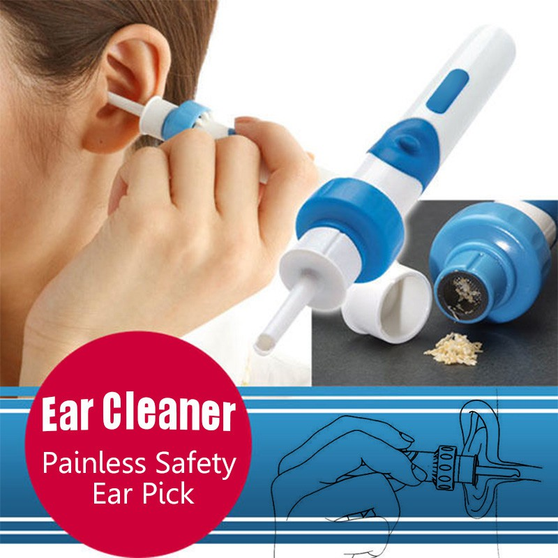 Fg Ear Pick Wax Box Cleaner Painless Vacuum Safety Retail