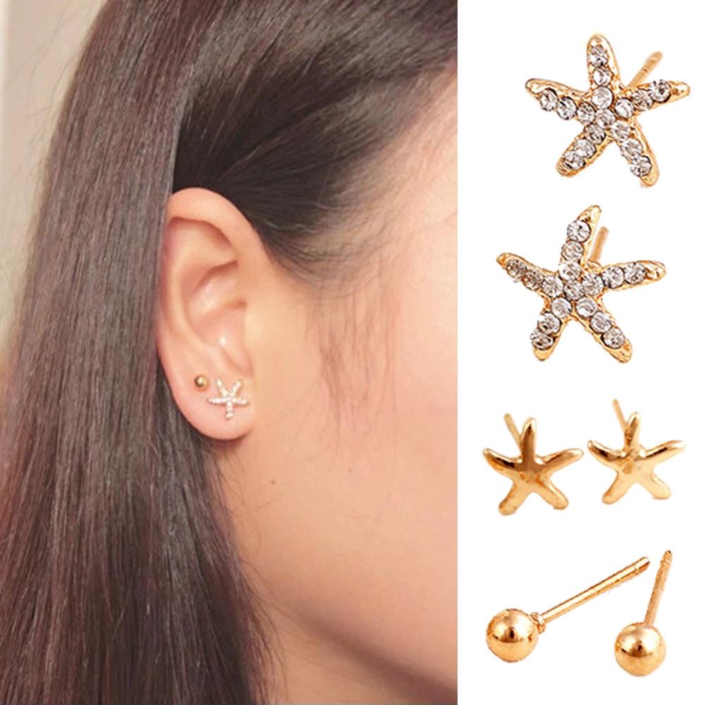 Earrings Clip Earrings Hospitable Clip On Earrings Screw No Pierced Ear Clip Round Clip On Earings Women