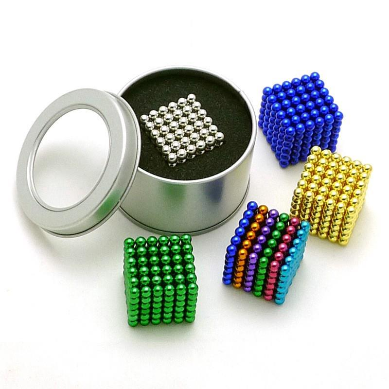 216PCS 5mm Buckyballs Neocube Magnetic balls Magnet