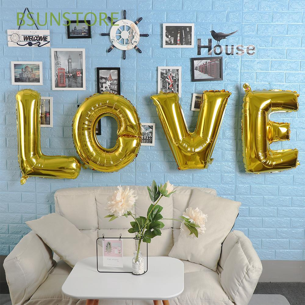 Baby Shower Letter Balloons.30inch Giant Wedding Supplies Birthday Gifts Baby Shower Letter Foil Balloon