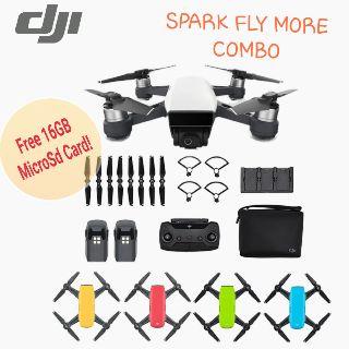 d4559df9d45 DJI Spark Fly More Combo + Microsd16GB/Local One Year DJI Warranty/Ready  Stock!