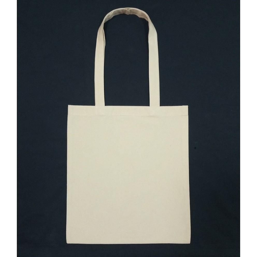 c242fd68213 Ready Stock Cheap Plain Cotton canvas tote bag