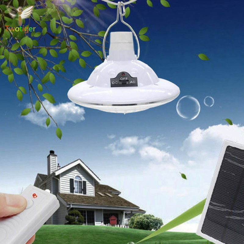 Portable Solar Powered 22 LED Remote Control Hook Hanging Tent Light Bulb Outdoor Camping Yard Lamp Emergency Lighting Chandelier Solar Camping Lights